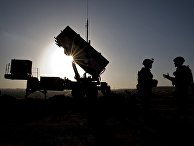 Routine Inspection of Patriot missile battery at a Turkish military base