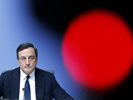 President of European Central Bank Mario Draghi speaks during a news conference in Frankfurt, Germany, following a meeting of the ECB governing council.