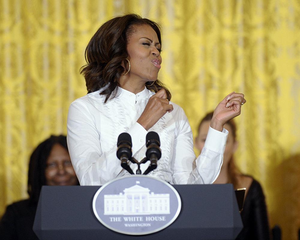 Michelle obama politics